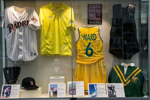 Sports Centre - Hall of Champions Exhibition - Photography by Rick Stevens