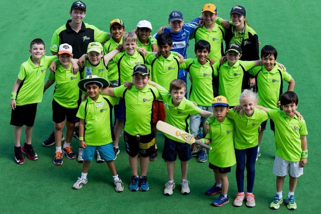 Sydney Olympic Park Quaycentre - Cricket Camp Thunder - kids playing cricket