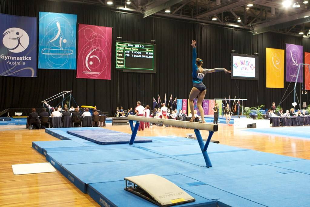 Sports Centre - Venue Hire - 2012 Australian Gymnastics Championships - Photography by Phil Barling The Big Picture