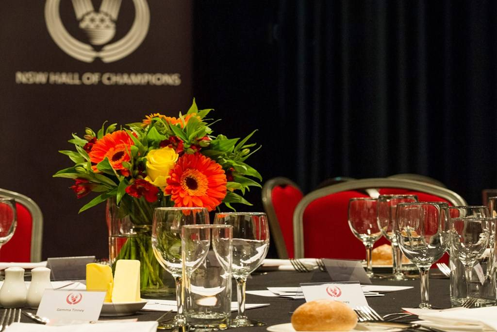 Sports Centre - Venue Hire - Hall of Champions Dinner - Photography by Paul K Robbins