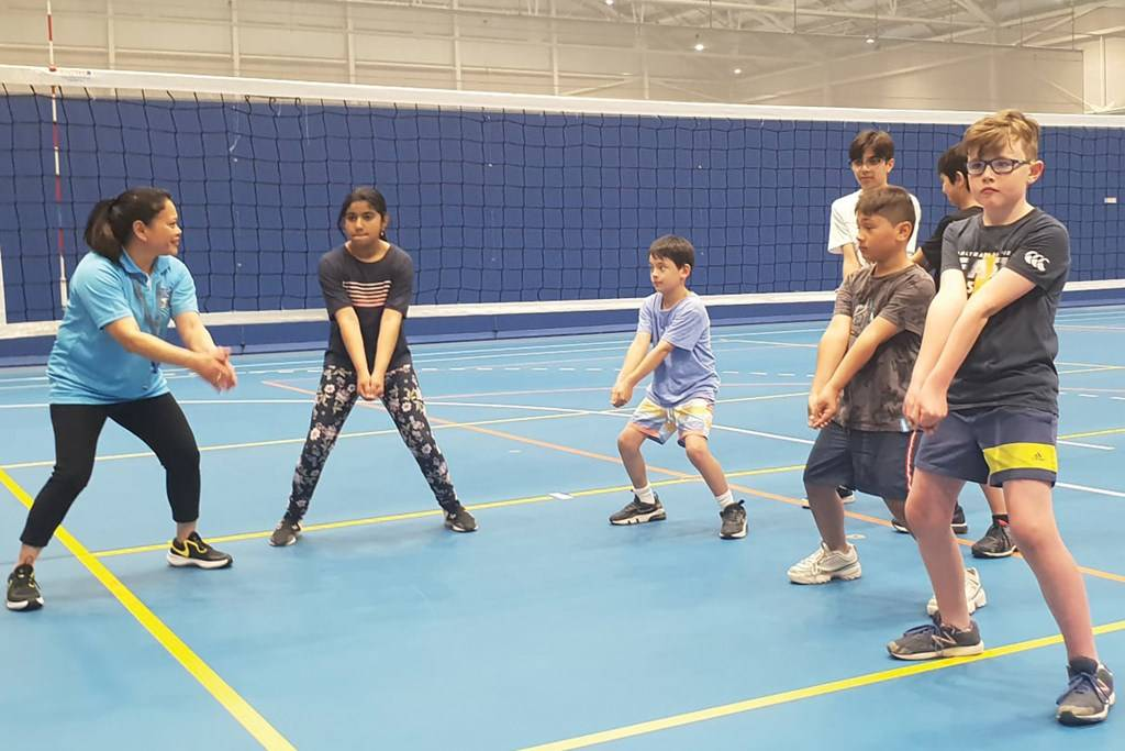 Volleyball Junior Spikers Holiday Program