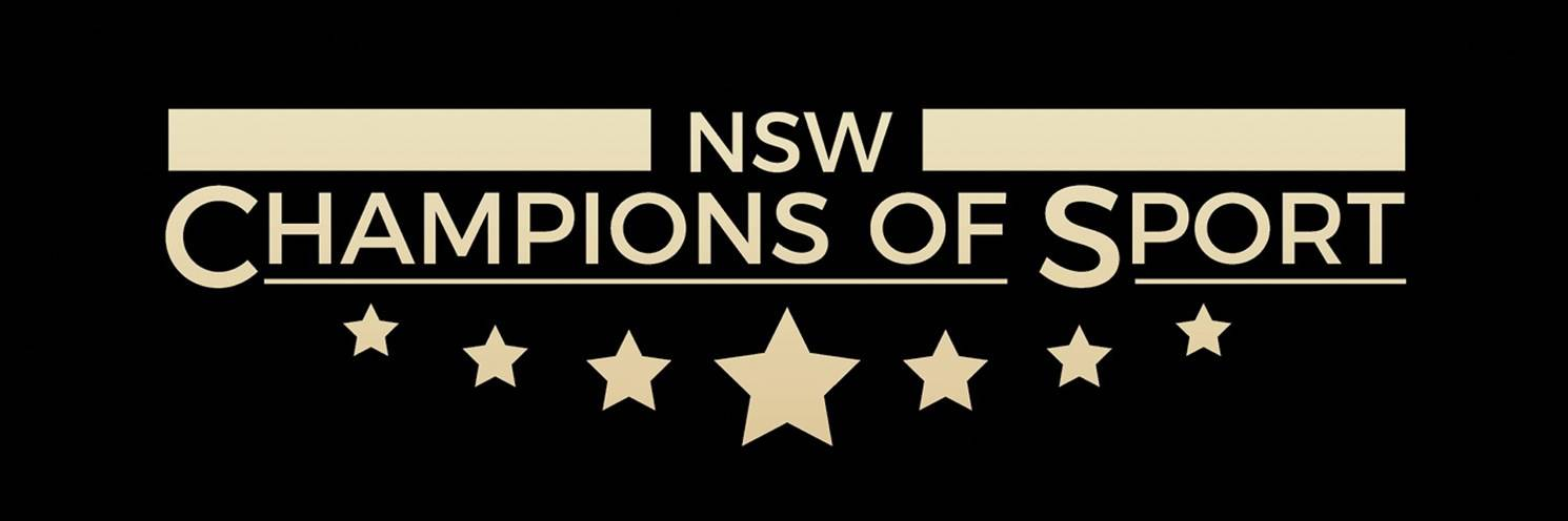 NSW Champions of Sport Header