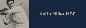 Keith Miller MBE
