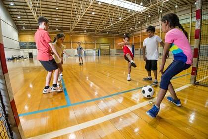 Sports Halls - Venue Hire - School Program - Photography by Paul K Robbins