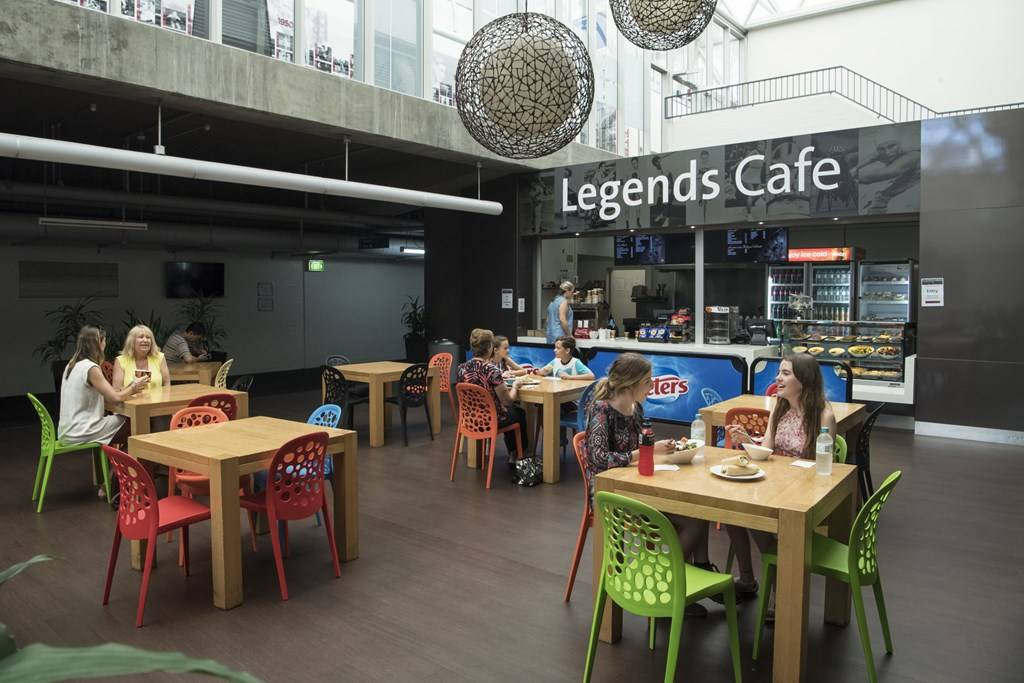 Sydney Olympic Park - Legends Café - Photography by Paul K. Robbins
